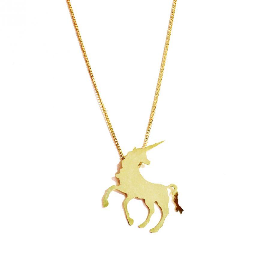 Colgante unicornio - Le Voilà