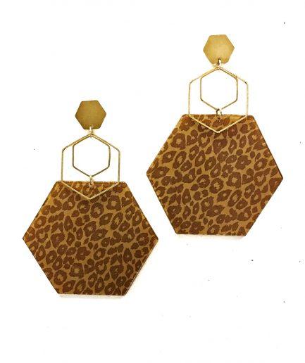 Pendientes Leopardo II - Le Voilà
