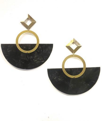 Sun II Earrings - Le Voilà