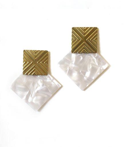 Earrings Meteoroid L-Le Voilà