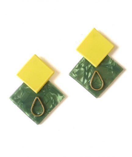 Earrings Meteoroid LIII-Le Voilà