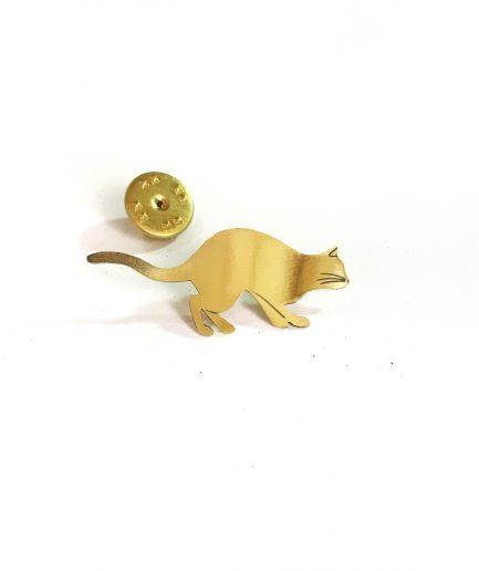 Broche gato - Le Voilà detalle
