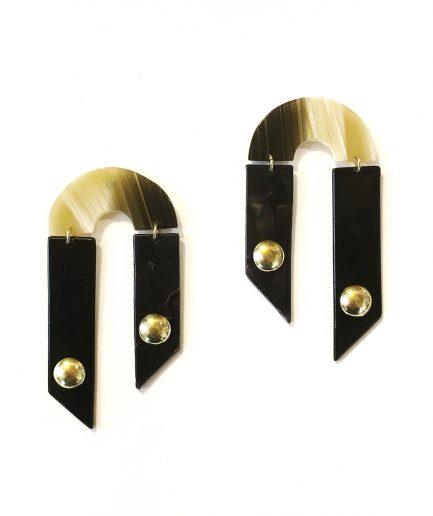 Earrings Understand maps X-Le Voilà