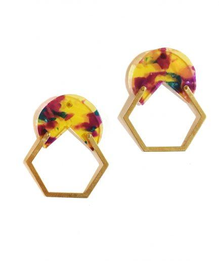 Earrings Lasca II-Le Voilà