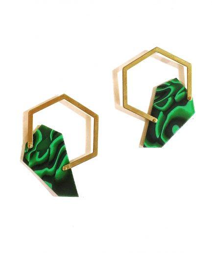 Earrings Lasca IV-Le Voilà