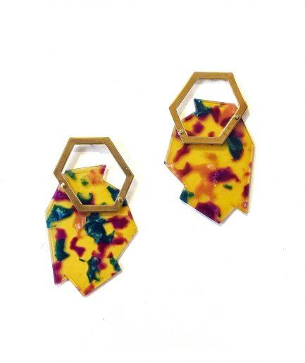 Earrings Lasca VII-Le Voilà