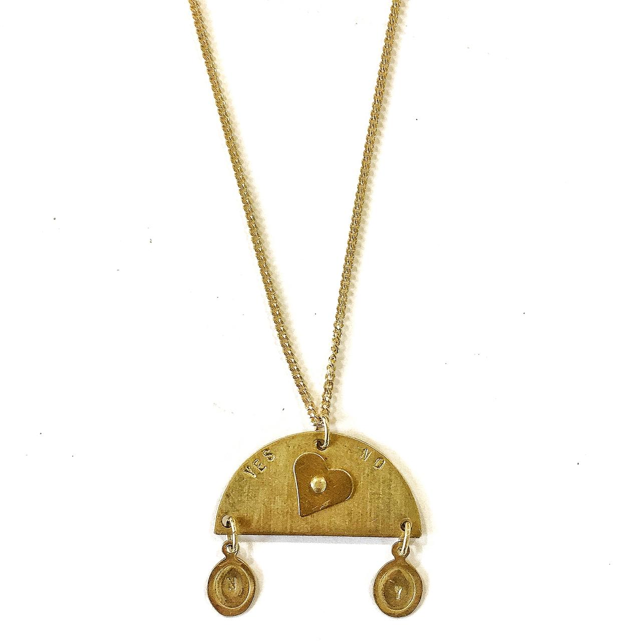 Ouija necklace Yes No-Le Voilà