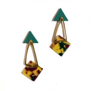 Earrings Meadow-Mountain IX-Le Voilà