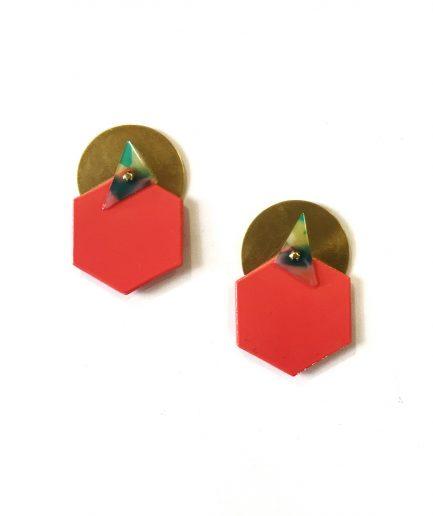 Earrings CH V-Le Voilà