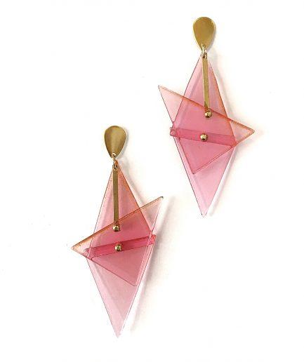 Earrings M II Station - Le Voilà