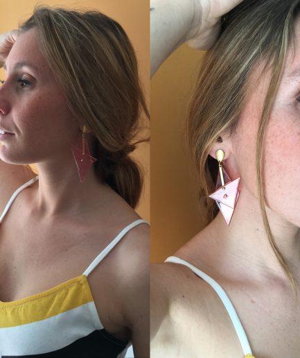 Earrings M II Station look-Le Voilà
