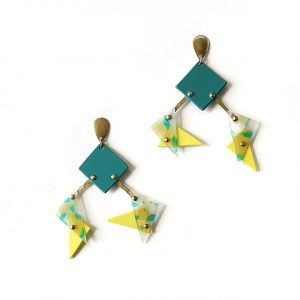 Earrings M III Station -Le Voilà