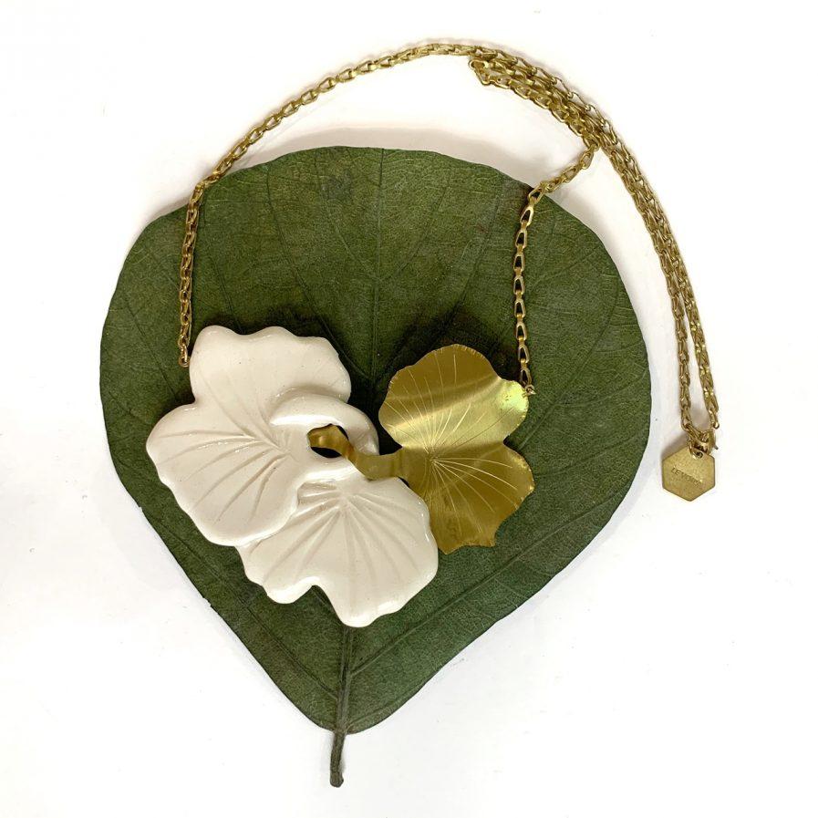 Gingko II Necklace - Le Voila