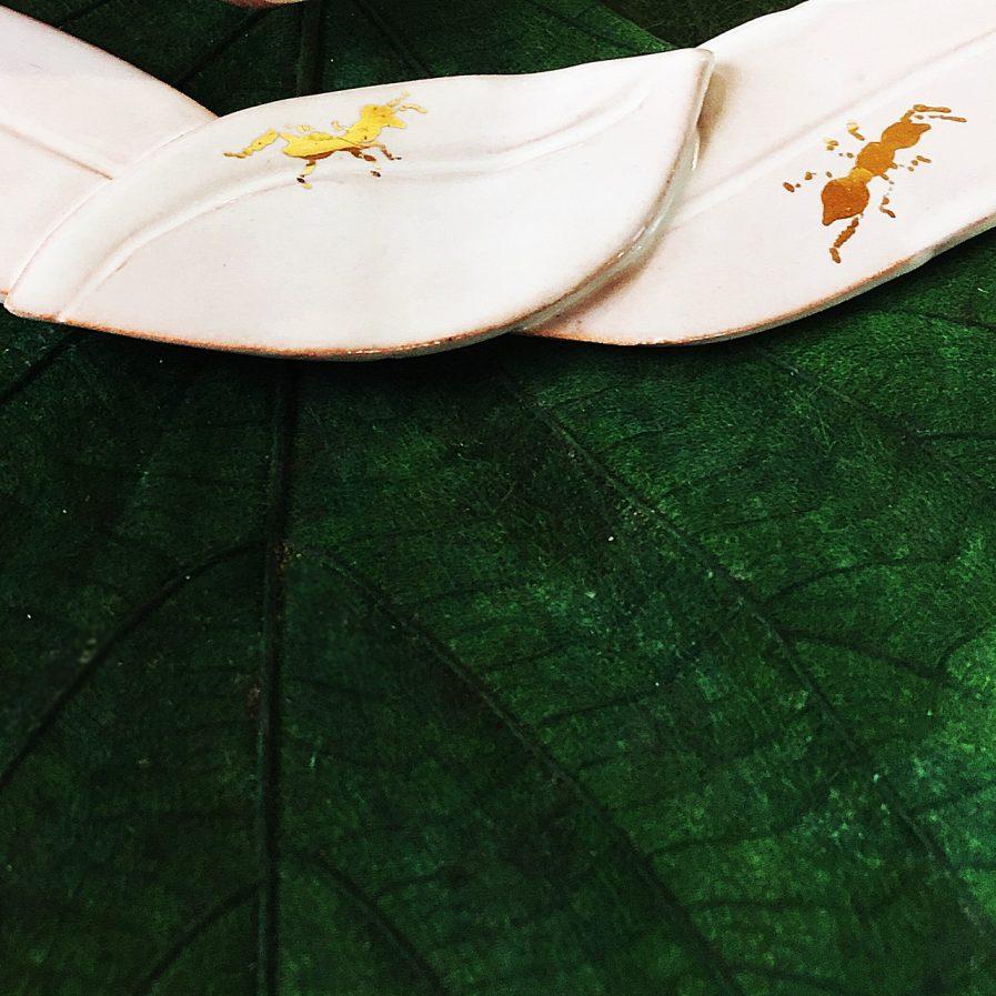 Panant II Necklace Detail - Le Voilà