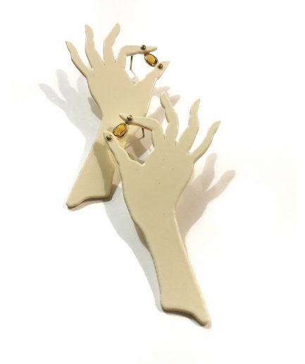 Hand Earrings I - Le Voila