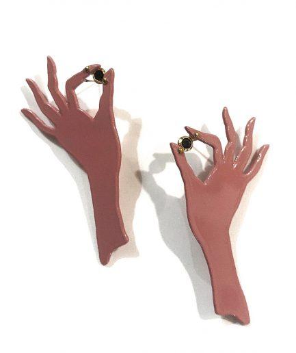 Pendientes manos II - Le Voilà