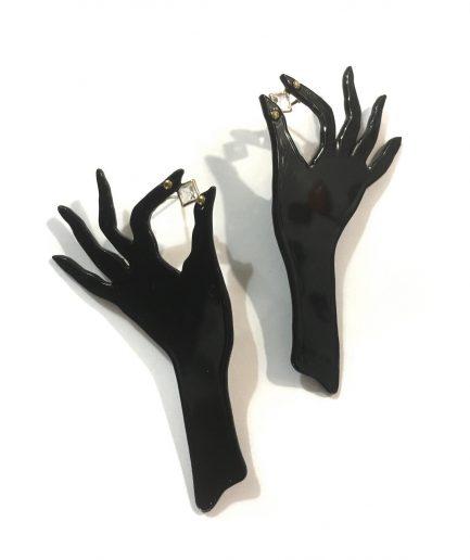 Hand Earrings III - Le Voila