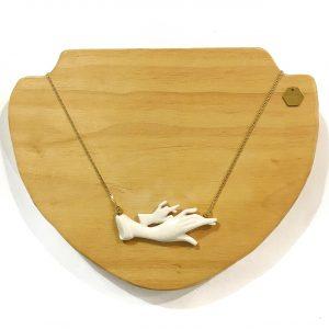 Colgante manos de cerámica II - Le Voilà