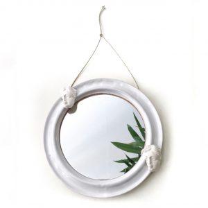 Ceramic Mirror II - Le Voilà
