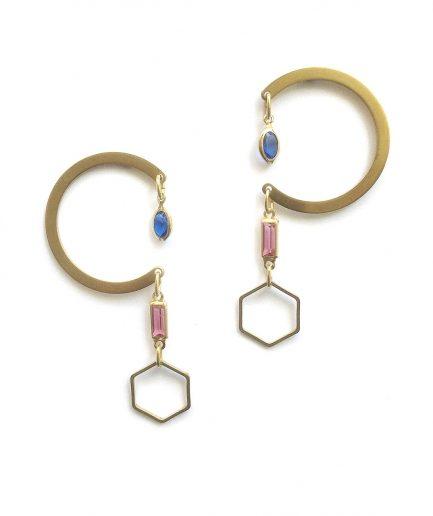 Dunstan II Earrings - Le Voilà
