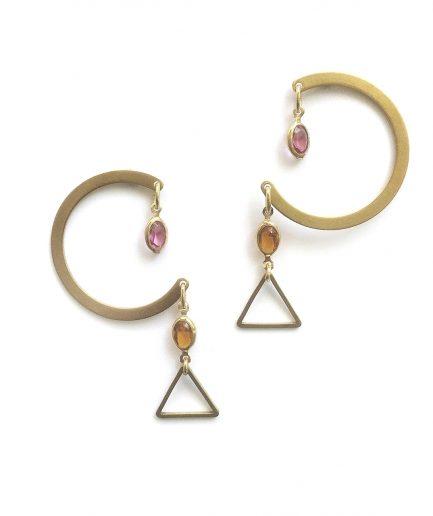 Dunstan III Earrings - Le Voilà
