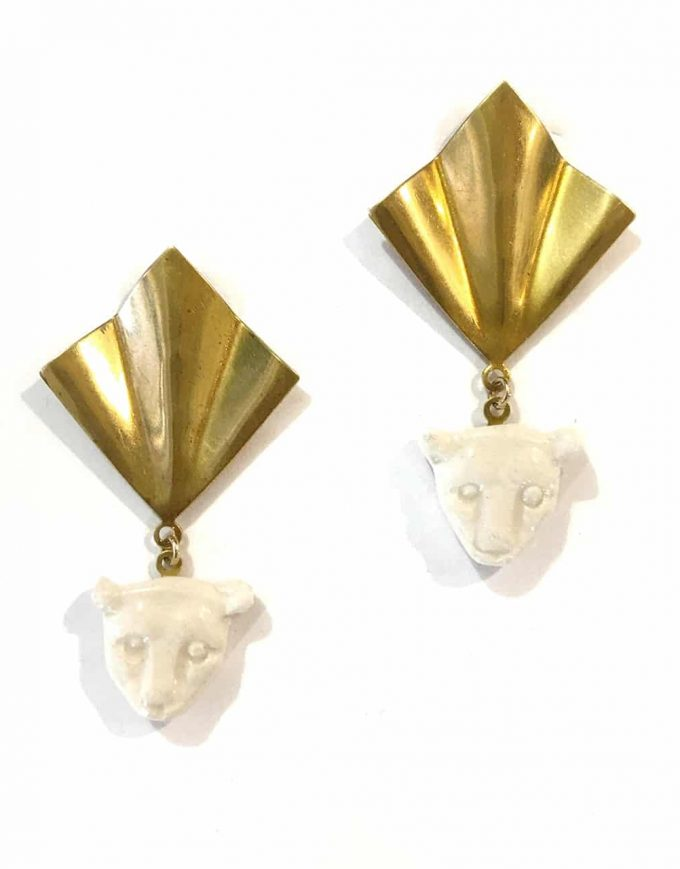 Panaleo V Earrings - Le Voilà