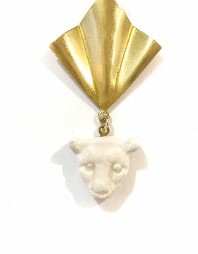 Panaleo V Detail Earrings - Le Voilà