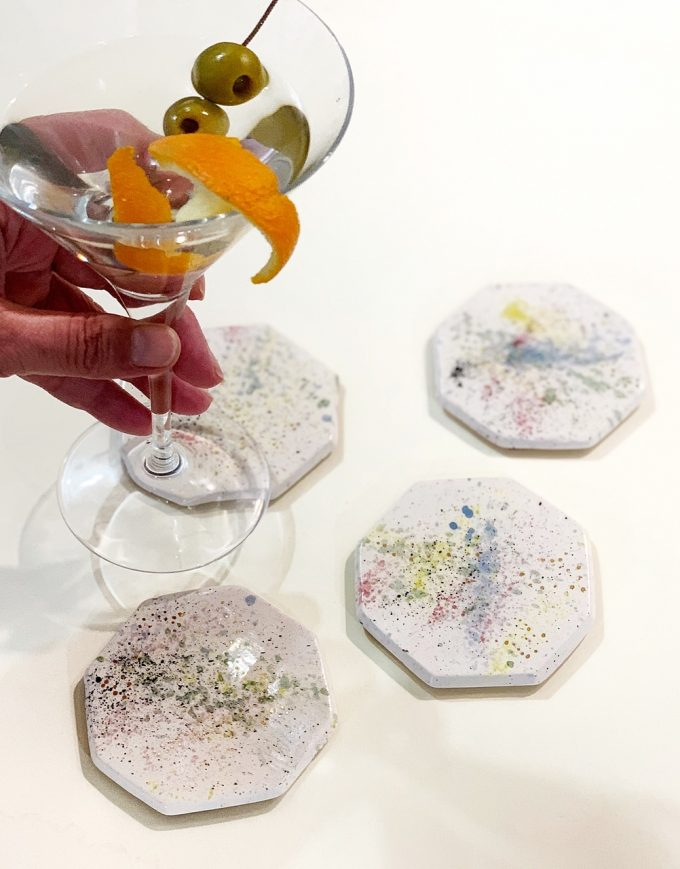 Pack of 4 coasters I - Le Voila