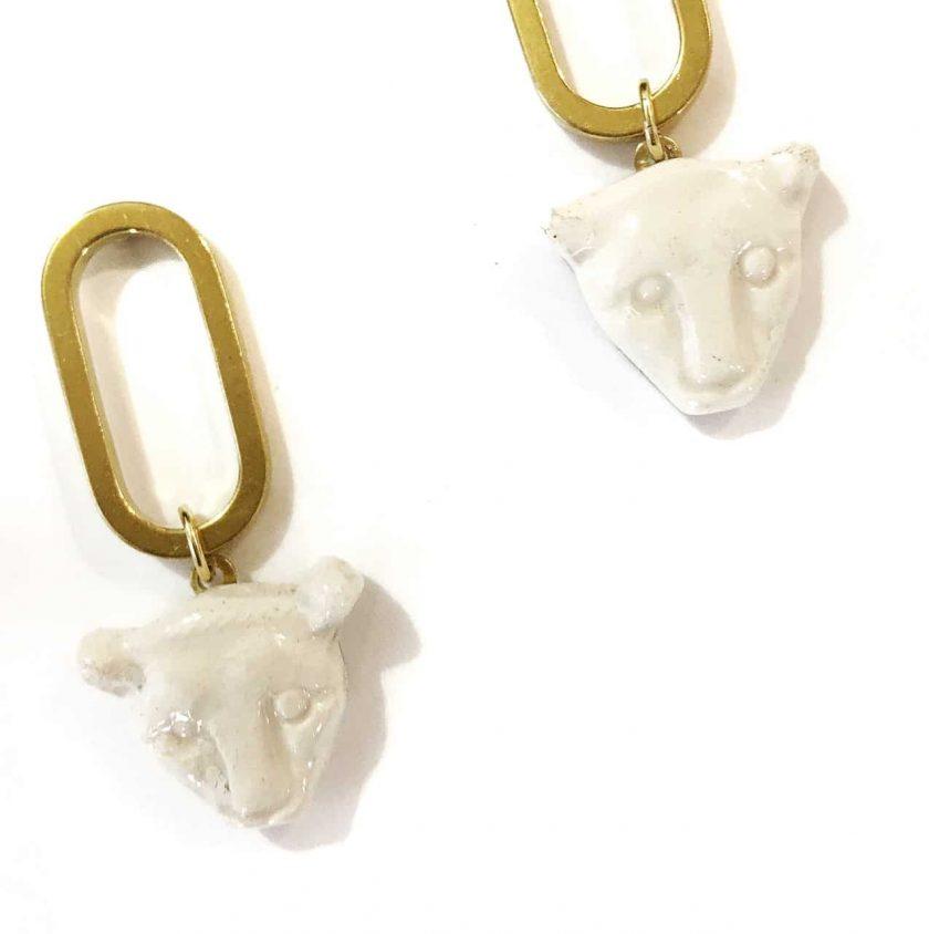 Panaleo VI Detail Earrings - Le Voila