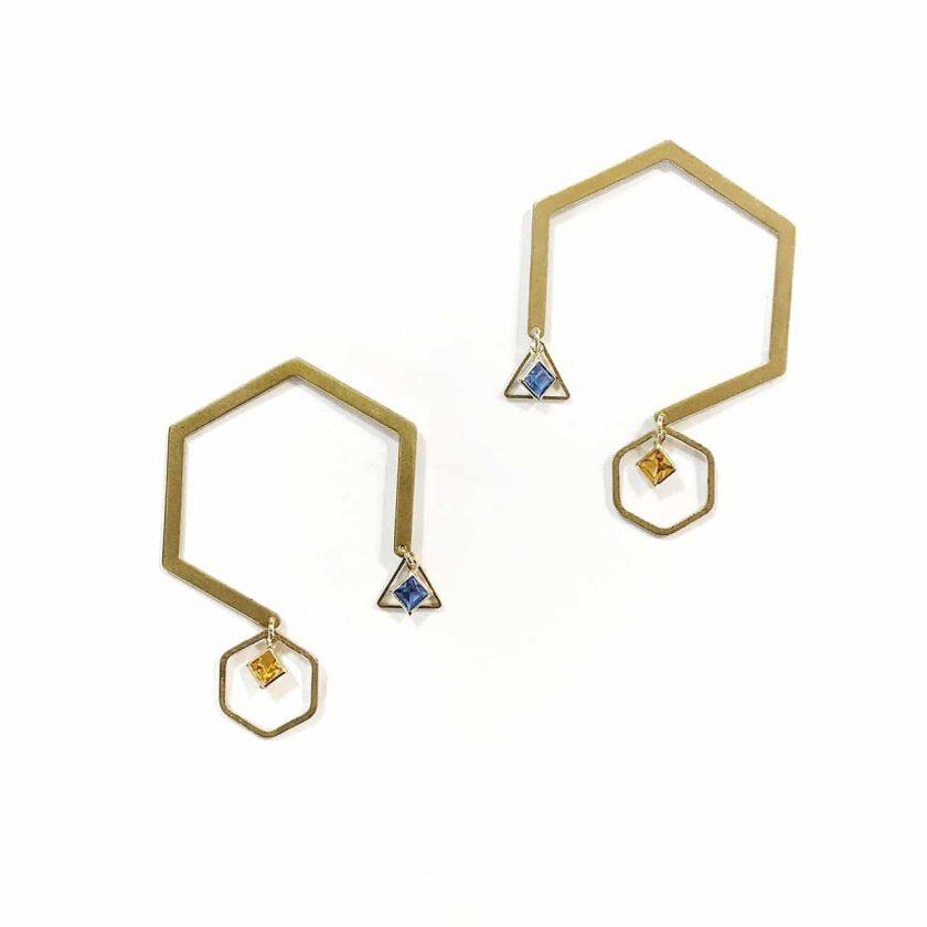 Dunstan VII Earrings - Le Voila